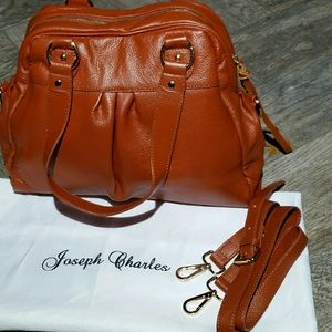 Joseph Charles Leather Cardiff Satchel
